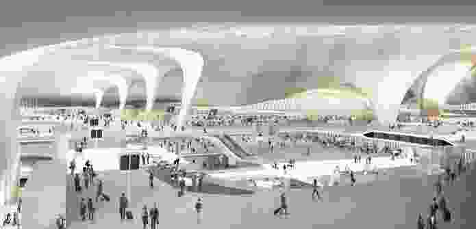 The proposed airport is expected to handle 45 million passengers per year.