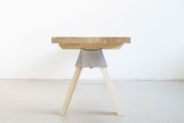A table using the A-joint.