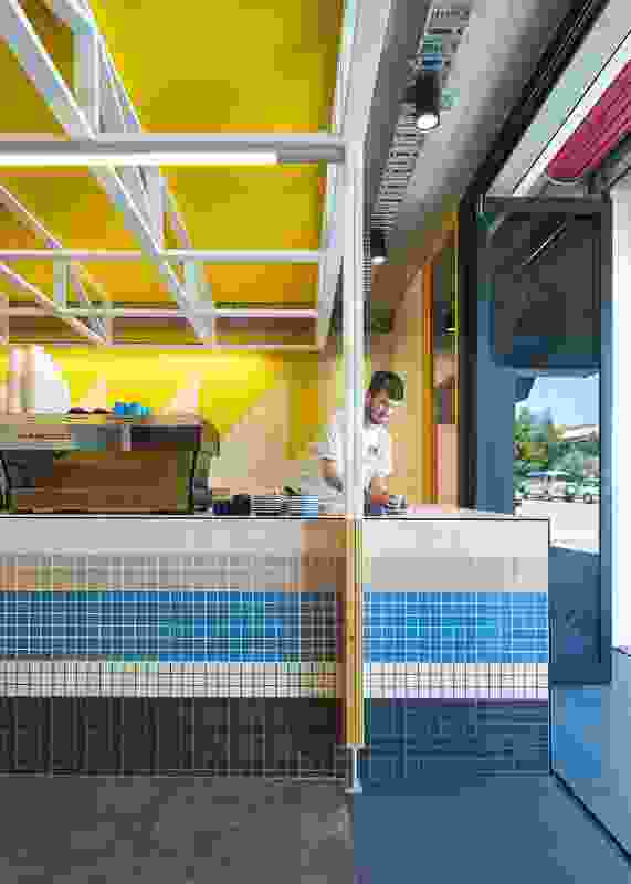 At the front of the site, the former loading dock accommodates a cafe called Dr Clause, providing amenity to staff and the broader community.
